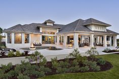 Stunning outside and interiors. Just needs 2 bedrooms upstairs and minus a family room. Love this!!!!