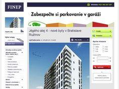 Finep SK – predaj nových bytov v Bratislave