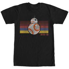 Get 20% off sitewide with code 314! Star Wars The Force Awakens Men's - BB-8 Retro Stripes T Shirt #starwars #theforceawakens #bb8