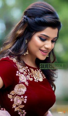 Hairstyles With Saree Google Search Anu Pinterest Indian