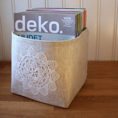 *learn to make fabric baskets