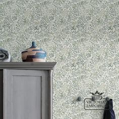 Buy Nocturne Wallpaper, Flowered and Botanical Wallpapers - Roll width 53 cm. Roll length m Bathroom Wallpaper, Home Wallpaper, Wallpaper Roll, Victorian Men, Victorian Fashion, Victorian Wallpaper, Victorian Interiors, Botanical Wallpaper, Nocturne