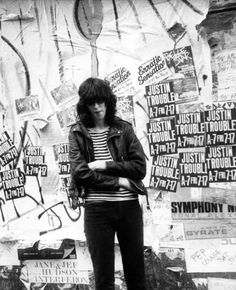 Joey Ramone • St. Mark's Place, NYC