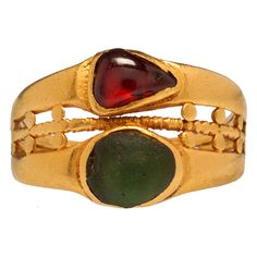 Roman Empire 5-6th Century Double Ring