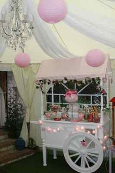 Victorian Candy Cart Sweet Cart Wedding Party