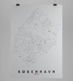- KLAM typemap poster - Delivery 5-6 days - 70x100cm (200gr semigloss paper)  - facebook.com/enklamide - enklamide.dk