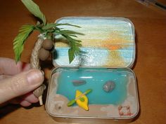 Vacation in a tin
