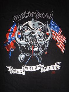 Vintage MOTORHEAD 1991 Original America Concert by TwistedFabrics