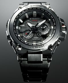 Check out the MTGS1000V-1A. The MT-G, Metal Twisted G-Shock, is a completely refined G-SHOCK series