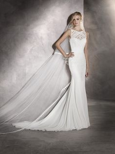 Pronovias Arlet Wedding Dress Currently For Sale At Off Retail.