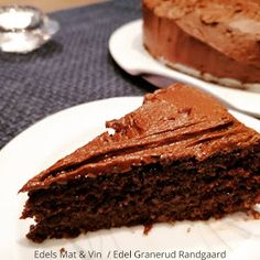Edels Mat & Vin: Lavkarbo sjokoladekake ! Lchf, Keto, Baking, Desserts, Food, Pineapple, Tailgate Desserts, Deserts, Bakken