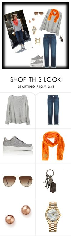 """inspiração 8"" by daianetavares310 ❤ liked on Polyvore featuring Gap, NIKE, Dsquared2, Ray-Ban, AllSaints, Bloomingdale's and Rolex"