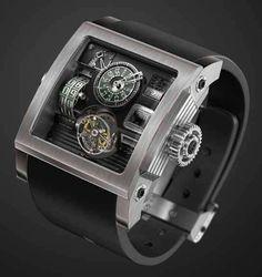 Vulcania Steampunk Watch by Fabrice Gonet