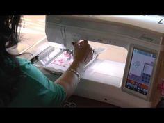 The Applique Tutorial: Applique On Your Embroidery Machine: Applique Corner - YouTube