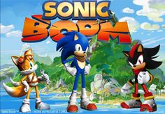 Sonic Boom wallpapers favourites by warnerplanet on DeviantArt