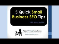 5 Quick Small Business SEO Tips