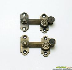 1.96 inches Lot of 2 pcs Vintage BOX Door LATCH HOOK