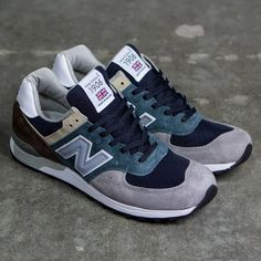 New Balance Men M576SP - Made In UK teal gray