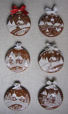 Christmas Sugar Cookies, Christmas Treats, Christmas Baking, Gingerbread Cookies, Christmas Ornaments, Xmas Crafts, Diy Crafts, Cookie Designs, Holiday Wreaths