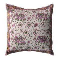 16 Gorgeous Indian Hand Block Print Pillow Cushion by RoyalFurnish, $4.99