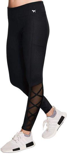 c5c2008563b99 PINK Super Soft Strappy Pocket Legging #leggings #vs #victoriasecret #yoga  #aff
