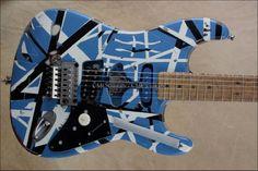 EVH replica of a Frankenstein replica but in blue $2500
