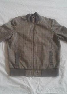 À vendre sur #vintedfrance ! http://www.vinted.fr/mode-femmes/manteau-boyfriend/15148470-veste-grise-carreaux