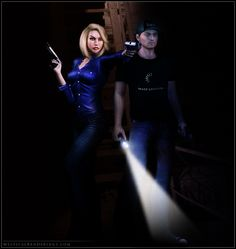 Vic and Aivee by Shaelynn.deviantart.com on @deviantART