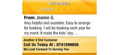 Very helpful and available. Easy to arrange for booking.  I will be booking each year for...