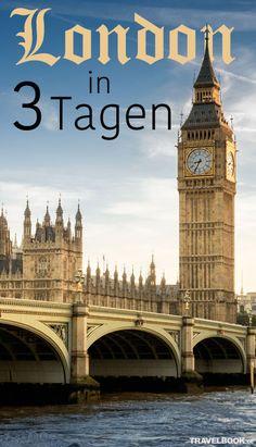 London hat genug für einige Wochen zu bieten, mindestens. Aber viele Besucher kommen dann doch nur für ein verlängertes Wochenende. Aber auch das kann reichen, um zumindest die wichtigsten Attraktionen und Sehenswürdigkeiten zu besuchen. Wir verraten die besten Tipps für drei Tage in der britischen Hauptstadt.
