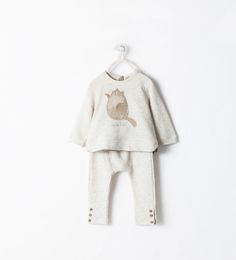 Image 1 of ANIMAL MOTIF OUTFIT from Zara