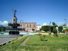 La Diana cazadora la (origina)l en el Zocalo de Ixmiquilpan Hgo. México