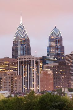 Photo about Philadelphia skyline featuring One and Two Liberty Place at dusk with a pink evening sky. Image of dusk, evening, office - 1242113 Family Law Attorney, Attorney At Law, Philadelphia Skyline, City Wallpaper, Future City, Willis Tower, Empire State Building, San Francisco Skyline, Liberty