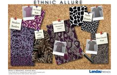 Ethnic Allure collection Trend Board