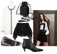 Western outfit inspiration, via fashionweek 2.0