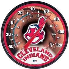 Cleveland Indians Thermometer