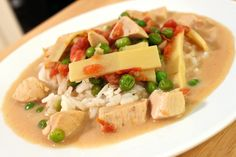 Thai Green Coconut Curry with Chicken