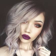Image result for faded purple hair