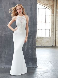 Madison James MJ319. Available @ Low's Bridal.