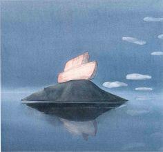Lisbeth Zwerger, Noah's Ark on Mount Ararat Lisbeth Zwerger, Art And Illustration, Food Illustrations, Psychedelic Drawings, Principles Of Art, Fairytale Art, Watercolor Artists, Watercolor Painting, Art Academy