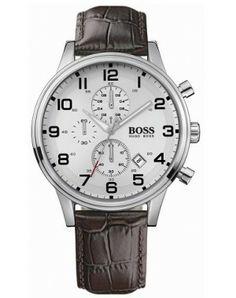Hugo Boss Leather Chono - Hugo Boss - Watches - Brands