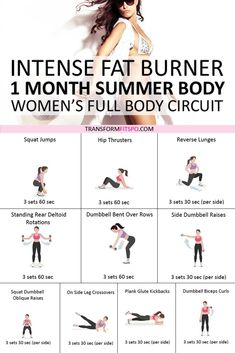 Do this intense fat burner to get your summer body in one month! The results will be amazing! Do this intense fat burner to get your summer body in one month! The results will be amazing! Month Workout, Workout Challenge, Workout Plans, 30 Minute Workout, Weight Loss Diet Plan, Lose Weight, Reduce Weight, Fat Burning Workout, Summer Body