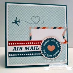 Stampin up Sent with love