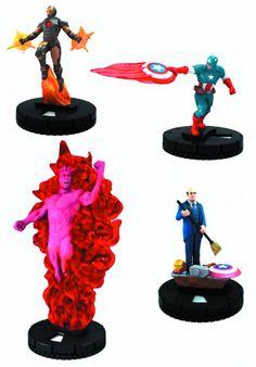 Marvel Heroclix Avengers Assemble.