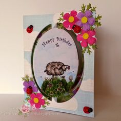 Cherry Rose Cottage Crafts: Happy Birthday To....EWE!! - with Mo's Digital Pencil!!