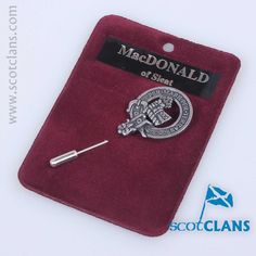 in cast pewter from ScotClans