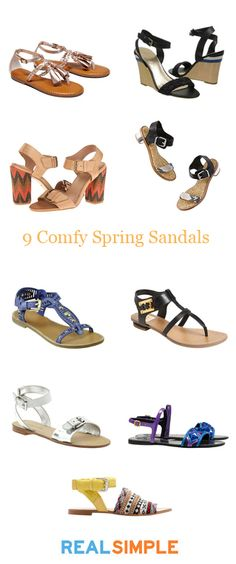 Our favorite sandals for spring!