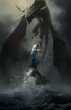 """""""I am Daenerys Stormborn of House Targaryen, Breaker of Chains, Mother of Dragons."""""""