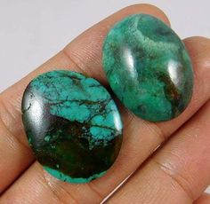 30 Cts.100% NATURAL LOT OF TIBETAN TURQUOISE LOOSE CAB GEMSTONE (O945) #NagmaGems