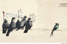 Gb, cancellato il '' murale razzista'': era di Banksy